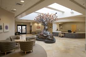 the V Foundation Atrium of Hope – The 11,500 square-foot St. Helena Hospital Cancer Center, funded by the V Foundation Wine Celebration opened the doors to cancer patients in the Napa Valley community.