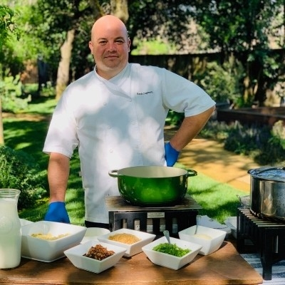 Alpha Omega Winery - Chef Nash Cognetti